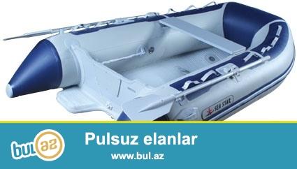 See Star şişmə qayıq. Uzunluğu  2,90 m. Motoru Tohatsu 8. Alyuminium döşəməsi. Qoşqusu ilə birlikdə satılır...