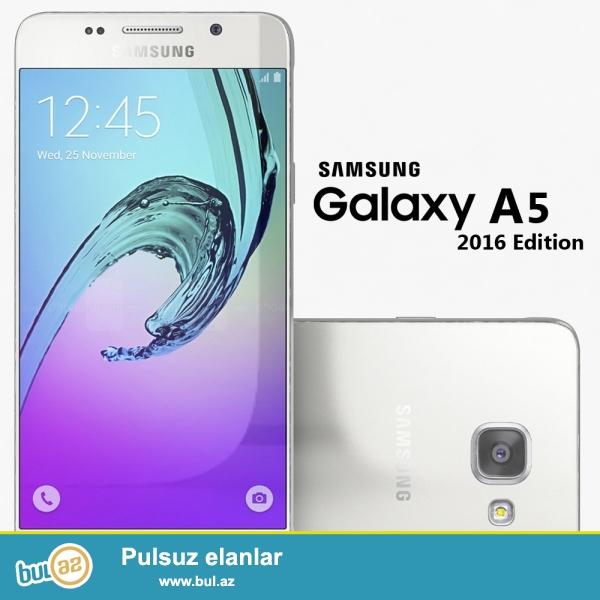 Samsung A5 2016 tezedir 3 rengi var Silver Black Gold...