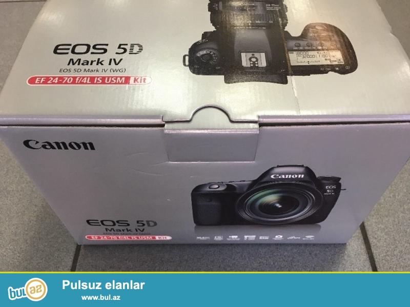 Canon EOS-5D Mark IV Digital SLR Camera Kit EF 24-70mm f / 4L Lens IS...