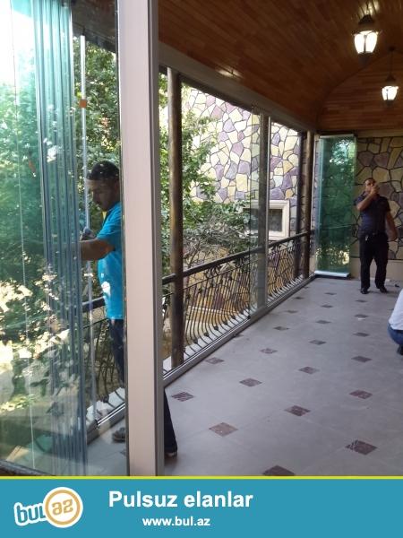 Obyektlərin dizaynına uyğun cam balkonların hazırlanması və quraşdırılması xidmətləri...
