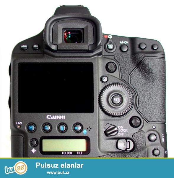 Canon 1DX Sigma 50mm  f1.4 obyektivi ile.<br /> Kamera 6-7 min probeq, obyektiv lap az islenib yeni kimi...