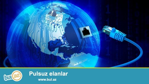 Analoq,  Reqemsal,  IP TV ve IP Kameralarin qurashdirilmasi,  <br /> Internet cekilsihlerinin apralimsai,<br /> internet shebekelerinin ve cihaz ve avadanliqlarinin qurulmasi, <br /> ayarlanmasi ve tenzinlenmesi...
