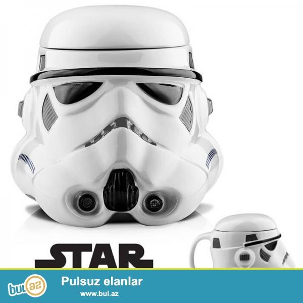 3 Boyutlu Darth Vader kafası şeklinde plastik kupa bardak tüm karanlığıyla karşınızda...