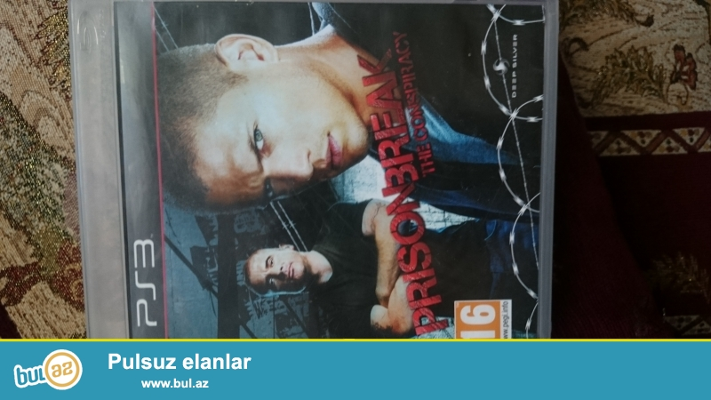 Ps3 oyunu Prison Break tam orjinal