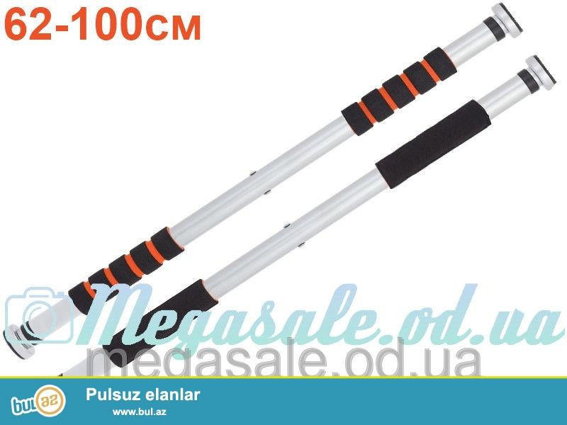 Turnik satilir. ölçüsü 62sm-100 sm - 18 manat. ölçüsü 83-130sm qiyməti 22 manat. vatsap da yaz bilərsiz.