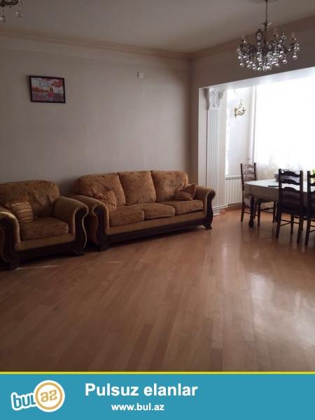 Новостройка! Cдается 4-х комнатная квартира в центре города, в Ясамальском районе, по улице Ш Азизбекова...