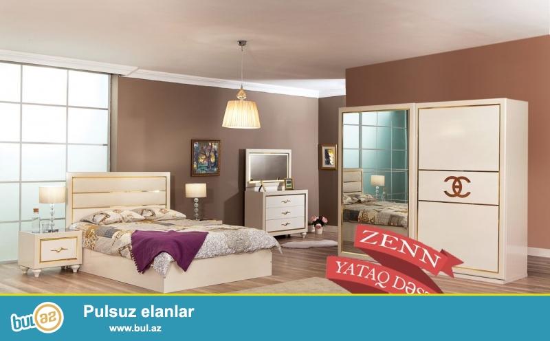"""Türkiyə istehsalı, yüksək keyfiyyətli """"ZENN"""" yataq dəsti 12 aylıq faizsiz kreditlə 3999 AZN..."""