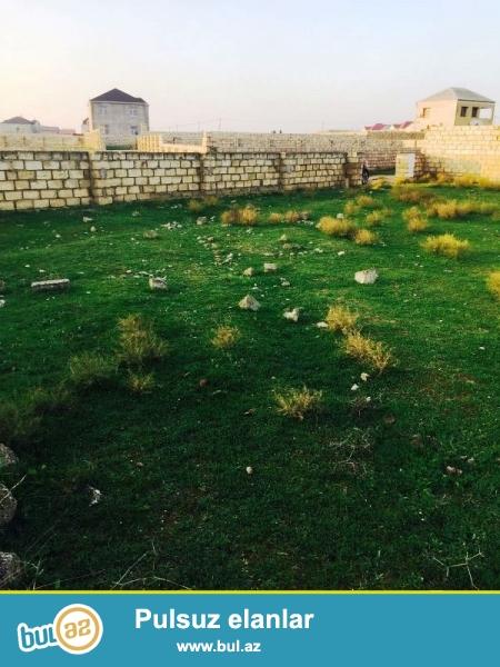 Satılır Mərdəkan Makaronni fabrikin yanında 11 sot torpaq sahəsi...