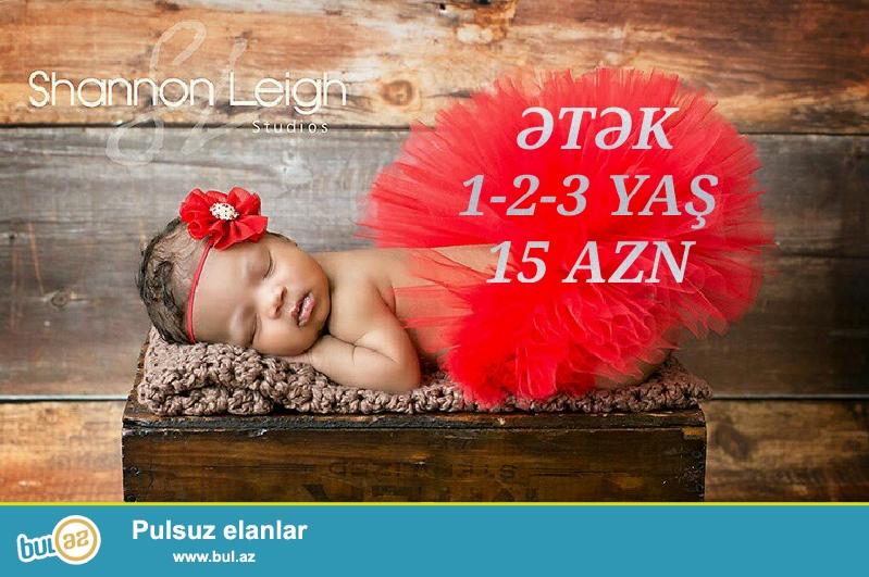 Sifaris ve melumat üçün 051 820 12 20 whatsap<br /> Olcu 1 2 3 yash <br /> Etek-15 AZN