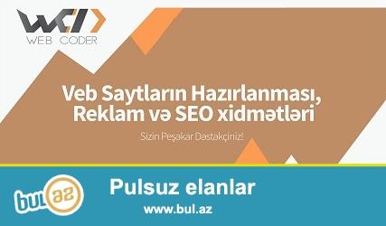 """""""Web Coder"""" agentliyi vebsaytların yaradılması, təşviqi və texniki dəstəyi, həmçinin, optimizasiyası ilə məşğul olan reklam agentliyidir..."""