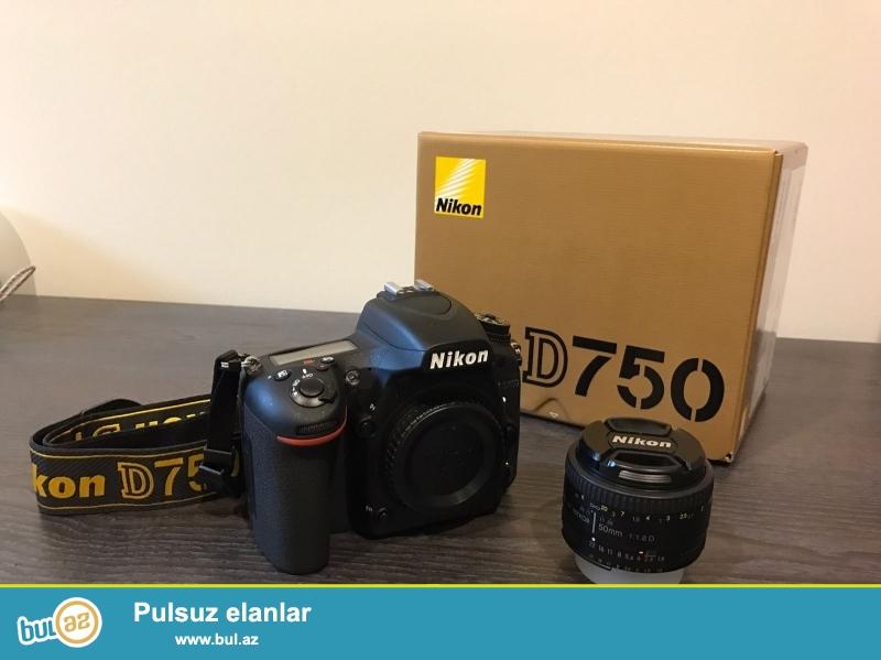 satış Nikon D D750 24.3 MP Digital SLR Camera üçün...