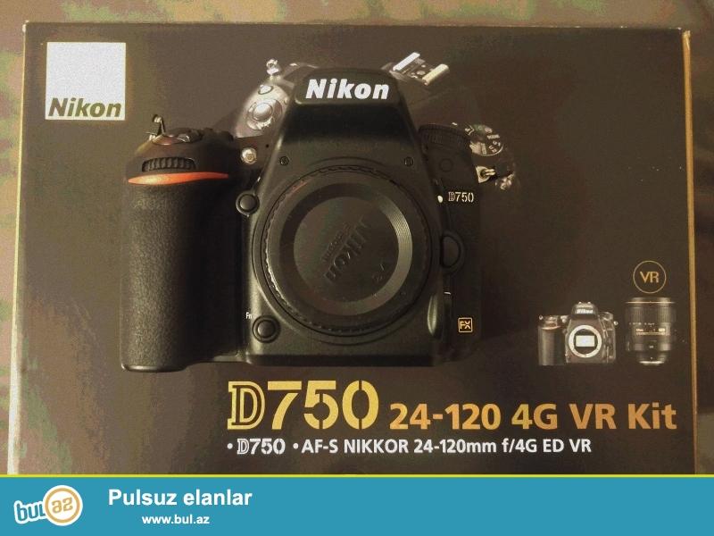 Nikon AF-S Nikkor 24-120mm ilə Nikon D750 DSLR Camera...