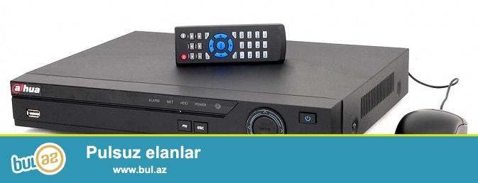 HD kameraların görüntülərini arxivləşdirmək üçün istifadə olunan DVR cihazlarının satışı, təmiri və internetə qoşulması...