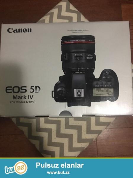 <br /> Canon EOS 5D Mark IV Body<br /> Canon EF24-105mm F4L II USM Zoom Lens IS<br />  Canon LP-E6N Lithium Ion Battery Pack<br /> Canon Battery Charger LP-E6<br /> Canon Eyecup Məsələn (göstərilməyib)<br /> Canon Wide Askı<br /> Canon Cable Protector<br /> Canon Interface Cable IFC-150U II<br /> Canon EOS DIGITAL Solution Disk<br /> Canon 1 il hissələri və əmək ABŞ Zəmanət<br /> <br /> bağlama haqqında sorğu üçün aşağıdakı məlumatları əlavə:<br /> <br /> skype: unbetable...