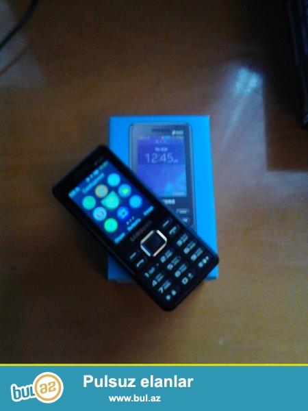 1 aydan az istifade olunmush Samsung b350e telefonu satilir...