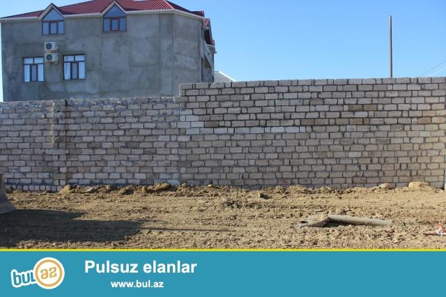 Sabunçu rayonu Maştağa qəsəbəsi, Araz marketin yanında, əsas yoldan 150 metr məsafədə 3...