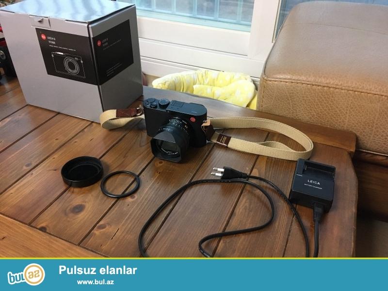 """Leica Q (Typ 116) Digital Camera (Qara)<br /> <br /> istifadəçi kitabçası:<br /> <br /> Brand Leica Q<br /> Model Typ 116)<br /> Əsas Xüsusiyyətlər<br /> Ekran ölçüsü 3 """"<br /> <br /> Daha ətraflı məlumat üçün bizimlə əlaqə saxlayın:<br /> <br /> Gmail: salesmarket27@gmail..."""