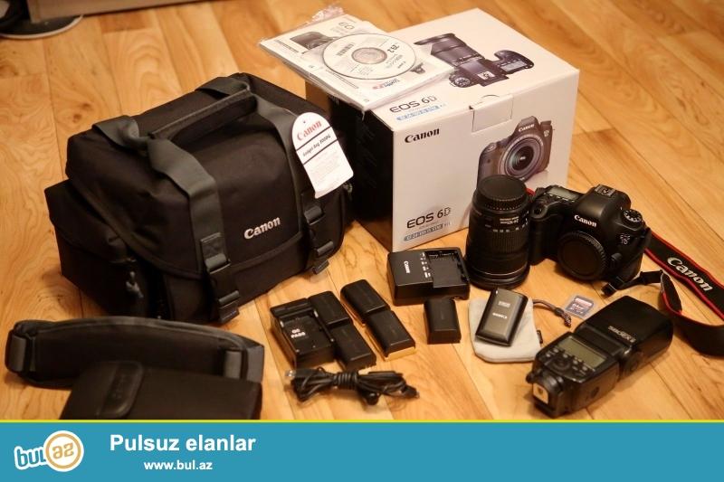 Canon EOS 6D Digital SLR Camera - (w Bundle Kit / EF STM 24-105mm edir...