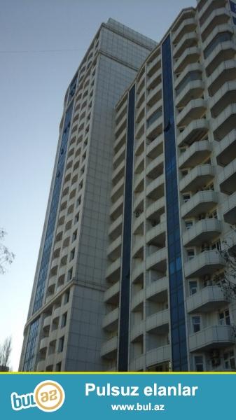 Ясамальский район  в элитном здании «Гоша парк» сдаётся 3-х комнатная квартира...