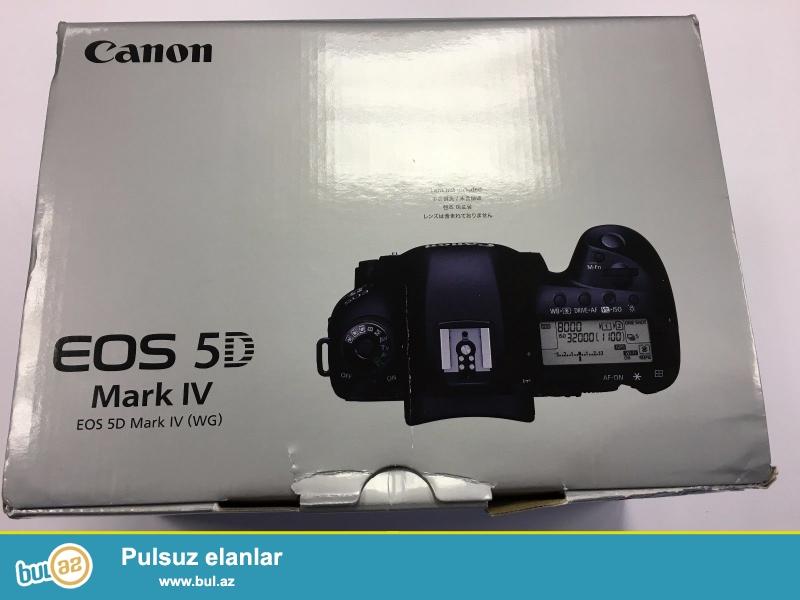 Canon EOS 5D Mark IV 30.4MP 4K DSLR Camera MK 4.<br /> <br /> istifadəçi kitabçası:<br /> <br /> Brand Nikon<br /> Model 5D Mark IV<br /> Əsas Xüsusiyyətlər<br /> Camera növü Digital SLR<br /> Ekran ölçüsü 3...
