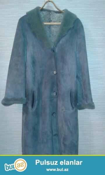 Şekilde gördüyünüz xanimlarçün kürk-palto 44-46 beden ölçülü