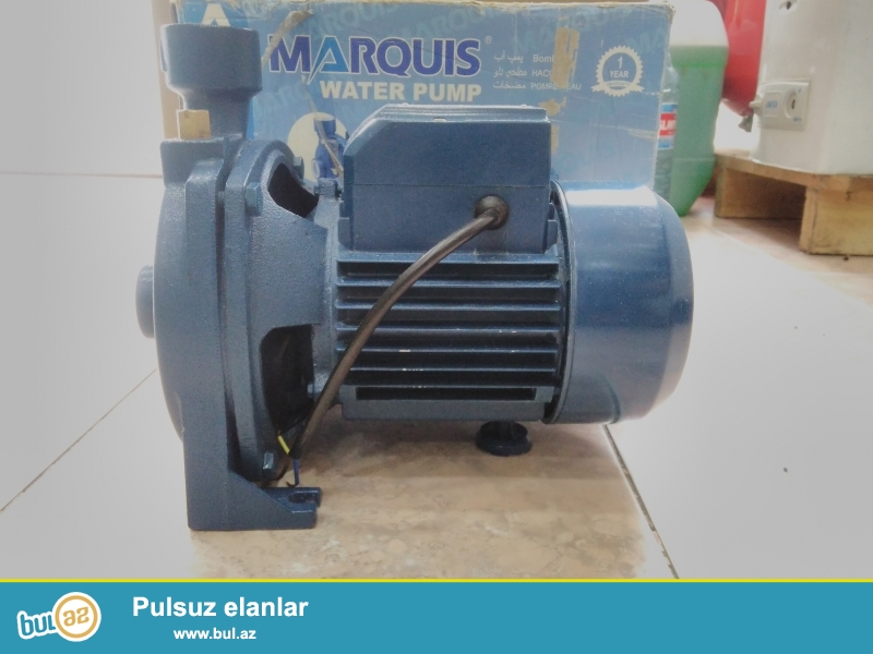 4 atmosferdir<br /> gucu 1100 w<br /> Marquis firmasidir<br /> modeli MCP 158-2<br /> teze ve saglamdir<br /> qiymeti 120 manatdir