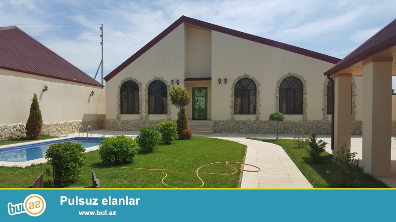 Срочно! В поселке Шувалан - Гюлчюлук, продается  5-и комнатный , 1-но этажный дачный дом , площадью 180 квадрат, расположенный на  6 сотках приватизированного  земельного участка...