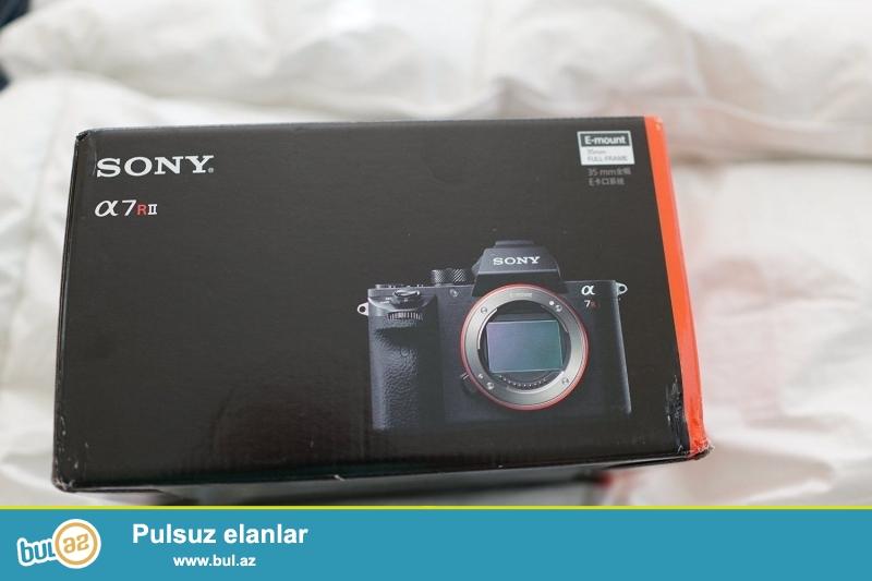 Sony Alpha a7RII 7t 2 mirrorless Digital Camera.<br /> <br /> istifadəçi kitabçası:<br /> <br /> Brand Sony<br /> Model Alpha a7RII<br /> Əsas Xüsusiyyətlər<br /> <br /> <br /> Daha ətraflı məlumat üçün bizimlə əlaqə saxlayın:<br /> <br /> Gmail: unbetableeletronics@gmail...