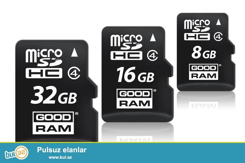 Mikro kartlar.təzədir.<br /> 8gb-8azn<br /> 16gb-11azn<br /> 32gb-15azn