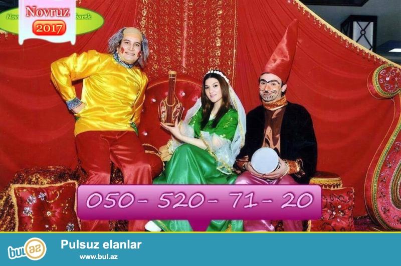 Novruz Bayrami gunlerinde Kosa, kecel ve baharqizi sifarisi yalniz bizde...
