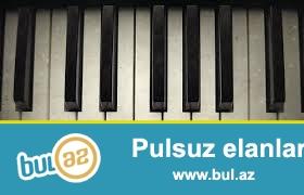 SINTEZATOR QARMON PIANO HAZIRLIQ