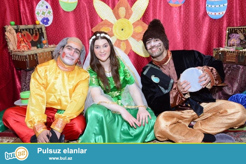 Qaravelillerden ibaret proqram. Novruz Bayrami gunlerinde Kosa, kecel ve baharqizi sifarisi yalniz bizde...
