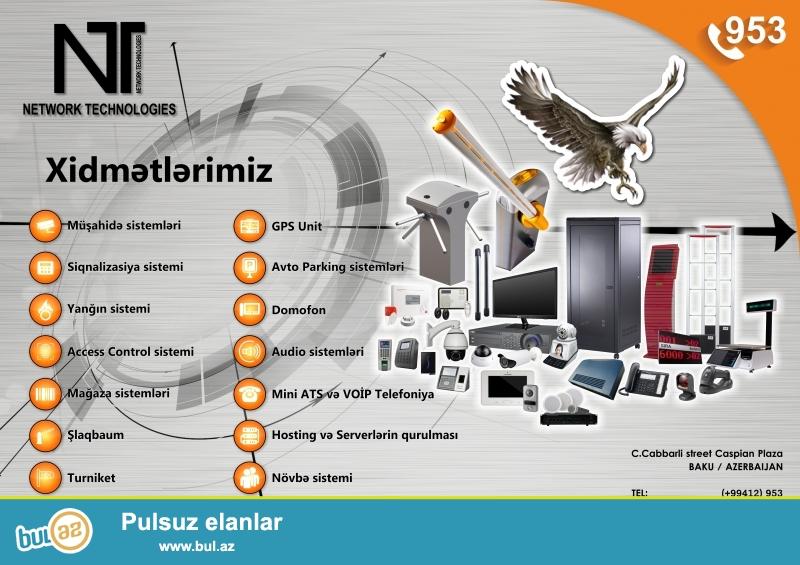 NETWORK TECHNOLOGIES<br /> Network Technologies – 2013-cü ildə  təhlükəsizlik və telekomunikasiya sahəsində təsis olunmuşdur...