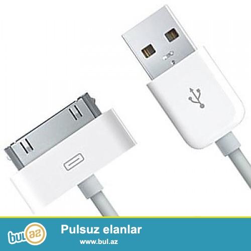 Iphone 4, 4s usb kabel tezedi<br /> Watcap aktivdi<br />