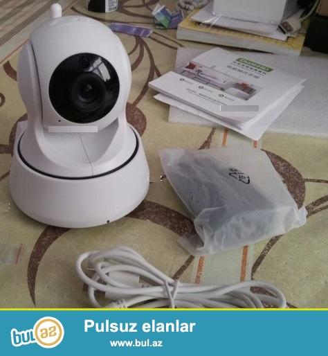 Cox az islenib.IP kamera- yukek keyfiyyetli HD wi-fi ip kamera...