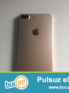Iphone 7plus.Rose rengdedir. Android sistemlidir. 32 gb yaddas tutumu var...
