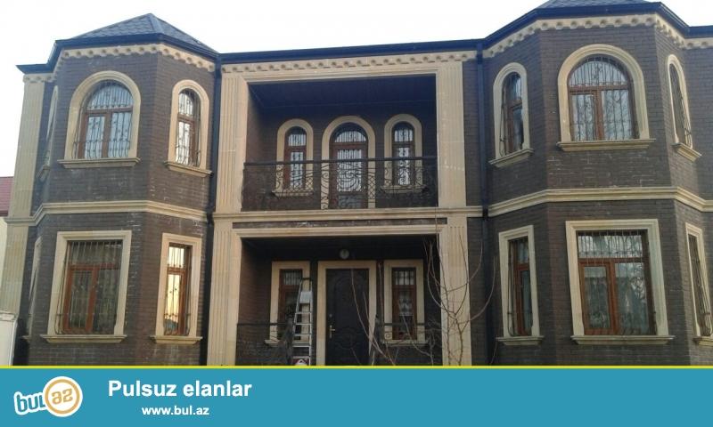 Bineqedi rayonu varovskide yerlesen 2 mertebeli villa zirzemisiyle birge kiraye verilir...