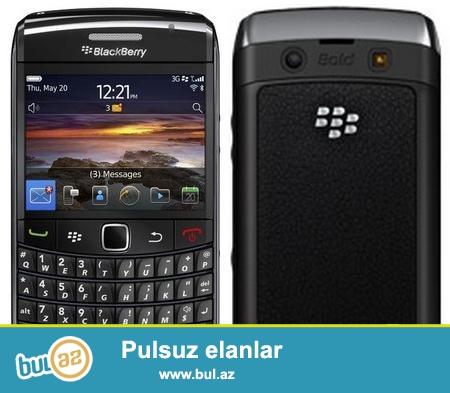 blackberry 9780 bold telefona soz yox yeni telefon aldiqima gore satiram