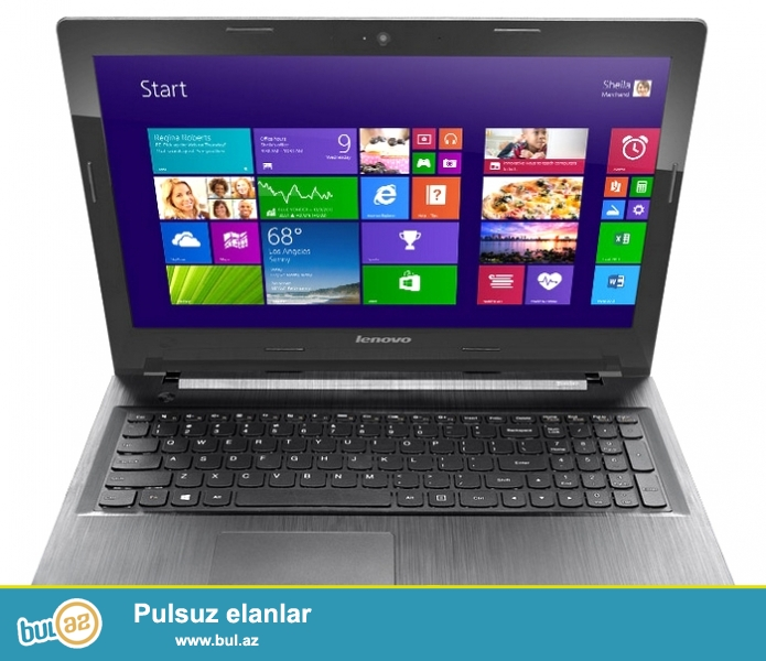 LENOVO G50-30 <br /> Prosesor:  intel N2830 <br /> Ram: 4 GB <br /> Video kart intel Vga: 2 GB <br /> Screen (Ekran): 15...