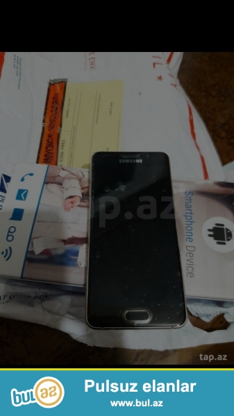 Salam. Satdigim Samsung A3 telefonun Americadan getizdirmiwem...