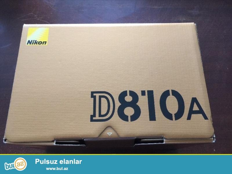 Nikon D810A DSLR Camera.<br /> <br /> istifadəçi kitabçası:<br /> <br /> Brand Nikon<br /> Model D810<br /> Əsas Xüsusiyyətlər<br /> Camera növü Digital SLR<br /> Optical Sensor<br /> Sensor Tipi CMOS<br /> <br /> Daha ətraflı məlumat üçün bizimlə əlaqə saxlayın:<br /> <br /> Gmail: salesmarket27@gmail...