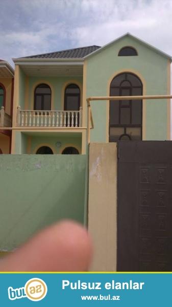 DIQQET DIQQET TECILI XIRDALAN SEH H.Arihf KUCESINDE 2 sot torpagin icinde 180 kvmt saheye tikilmis 2 mertebeli 4 otaqli tam temirli heyet evi satilir...