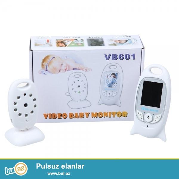 Valideynler üçün elverişli olan baby video monitor vasitesi ile övladınızın öz otağında nece yatdığını ve ya oyanıb tehlükeli veziyyetde olub-olmadığını,ağlayarken sesini eşitmeyinizi bu cür problemlerden azad edecek en rahat canlı şekilde izleyib sesini eşidib, sesine ses vere bilersiniz,hem de oyandıqda melodiya dinlede bileceksiniz...