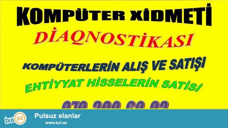 Komputer formatı və təmiri.Qiymət 15 manat. <br /> +Lisenziyali antivirusların yazilması (kasperski, avast)<br /> +Bütün sistem oşibkaları həll olunur, komputer açılarkən tez açılır...
