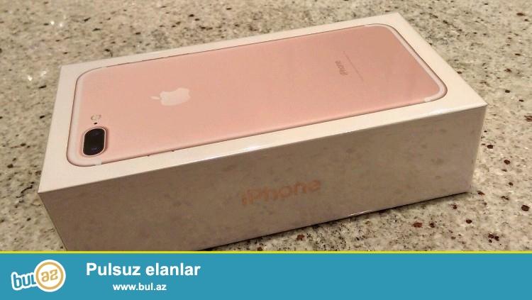 <br /> Bu liste saxlama 256GB ilə çəhrayı qızıl bir marka yeni etmişlər Apple iPhone 7 PLUS edir...