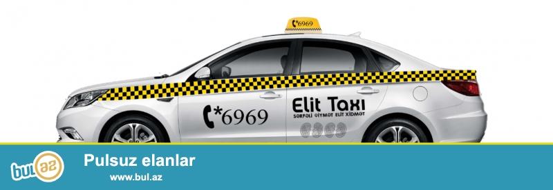 Elit taxi sürücülərlə iş üzrə menecer tələb edir...