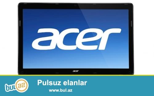 Acer noutbuku satilir 380 manat. Ram 8. i5 prosessor...