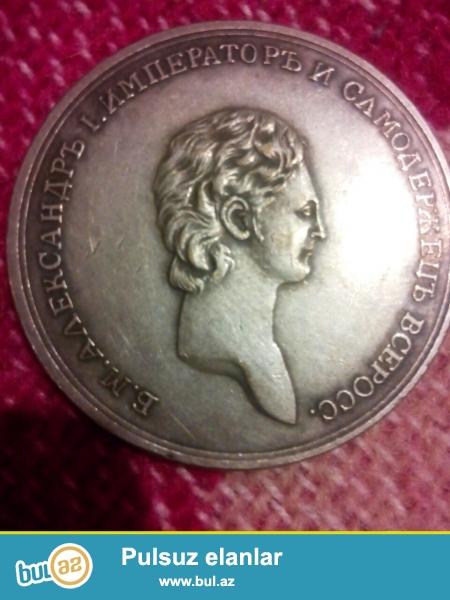 1801 ci ilin medalyonudu