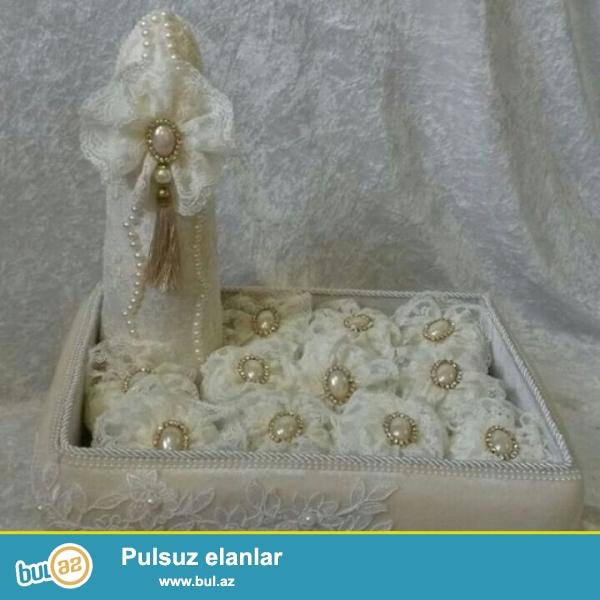 Toy,Nisan xoncalarinin, konfetlərinin bəzədilməsi<br /> Xına səbətləri sifarişi<br /> Gül mağazalarından sifarişdə qəbul olunur...