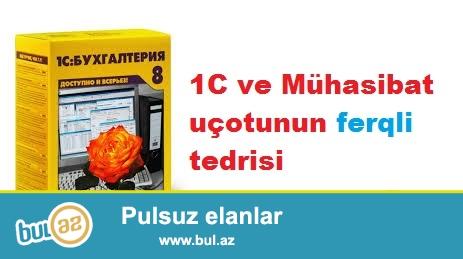 Baş mühasib/müəllim kimi (25 il) mühasibat uçotunu (yeni və köhnə hesablar planı), 1C-7...